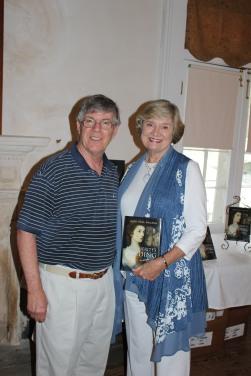 Buddy Sullivan and June McCash at a recent talk at Ashantilly.